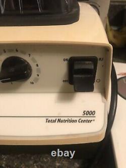 Vitamix 5000 Juicer Food Processor Blender Avecrecipe Book & Video Works Great