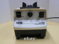 Vitamix Super 5000 Juicer Food Processor Blender Vita MIX USA Vm0103-testé