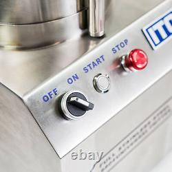 Wyzworks 550w Processeur Alimentaire De Qualité Commerciale En Acier Inoxydable 1400rpm Ce Fritter